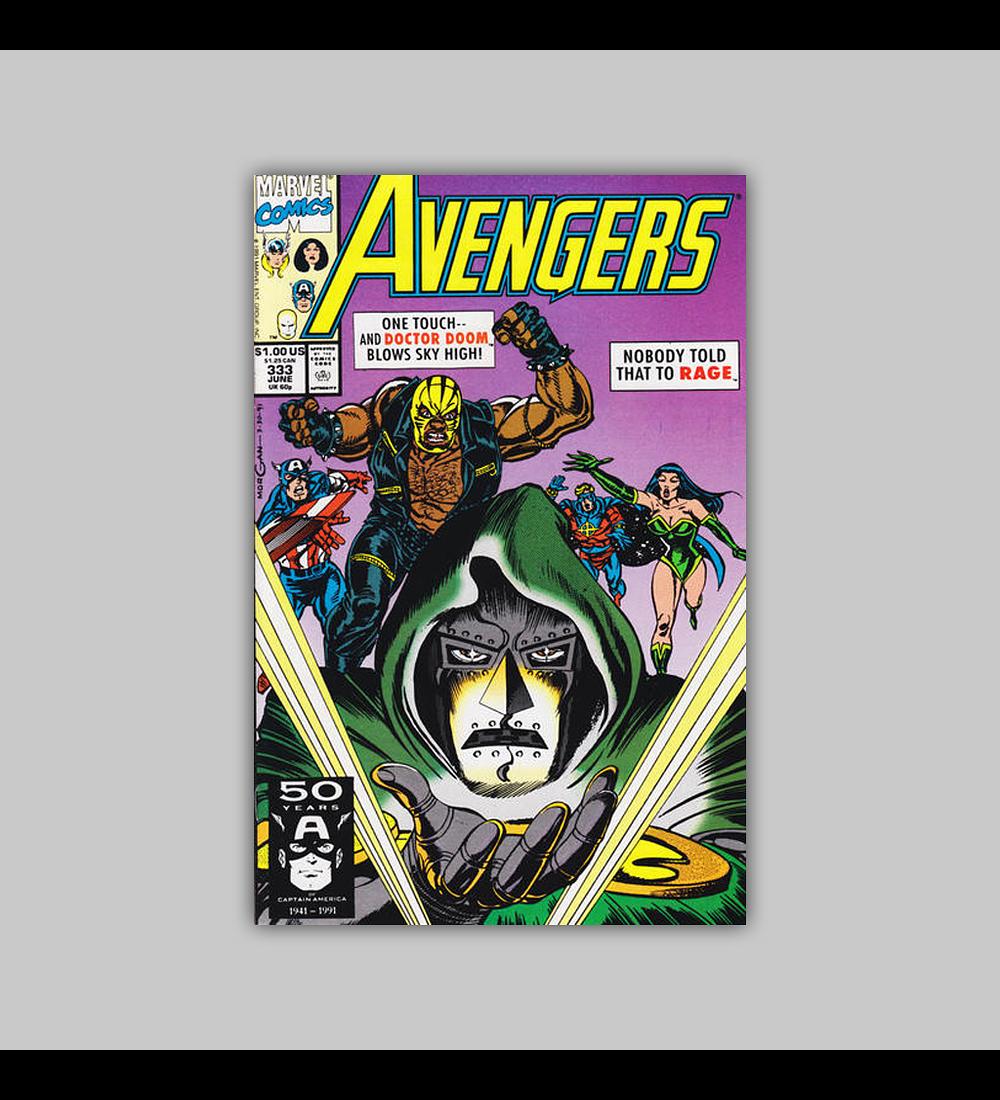 Avengers 333 1991