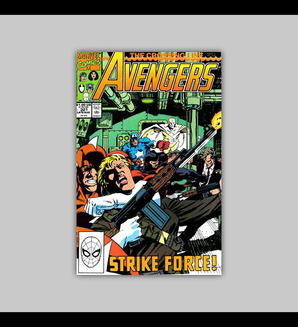 Avengers 321 1990