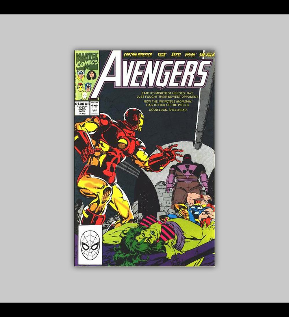 Avengers 326 1990