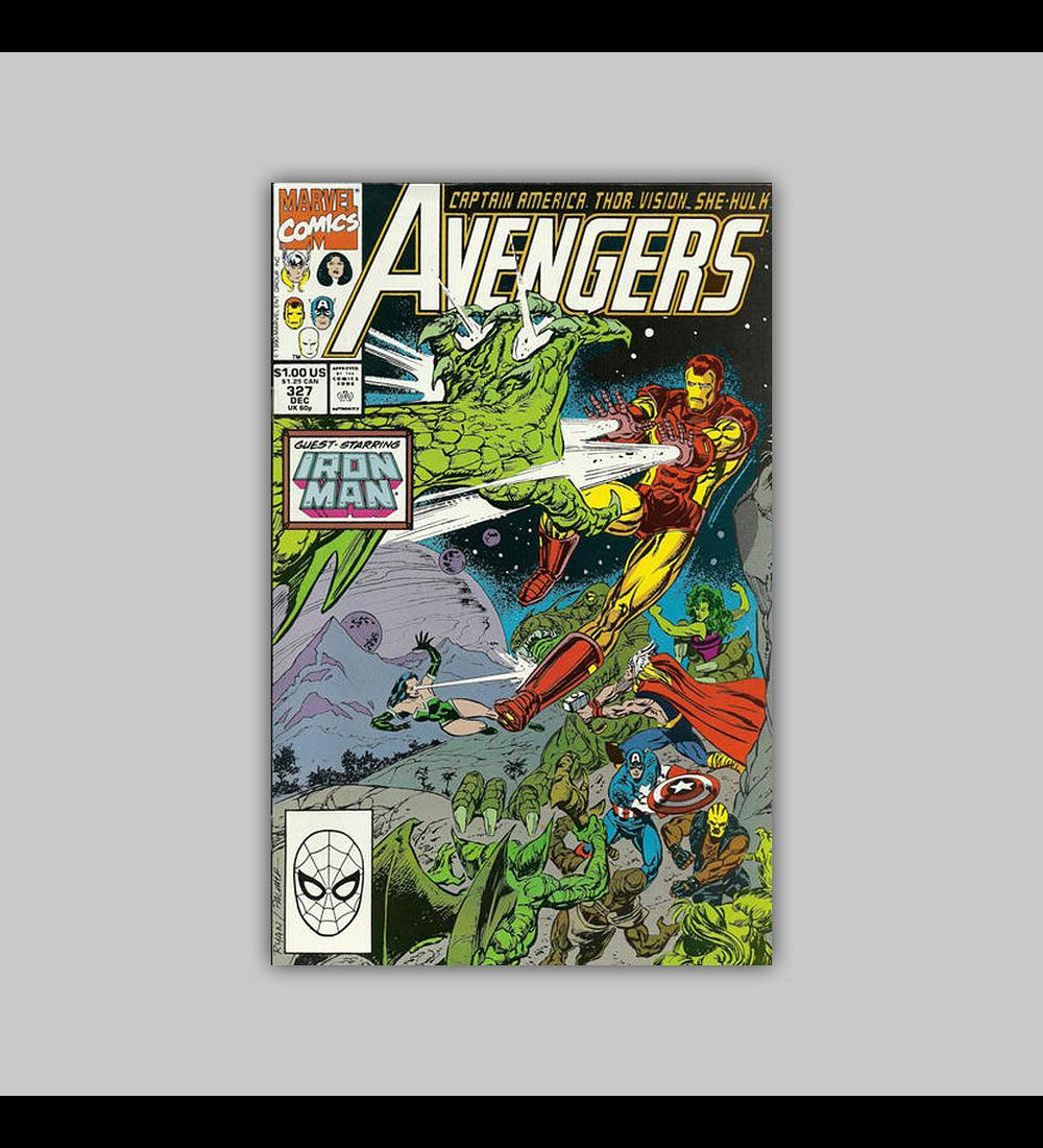 Avengers 327 1990