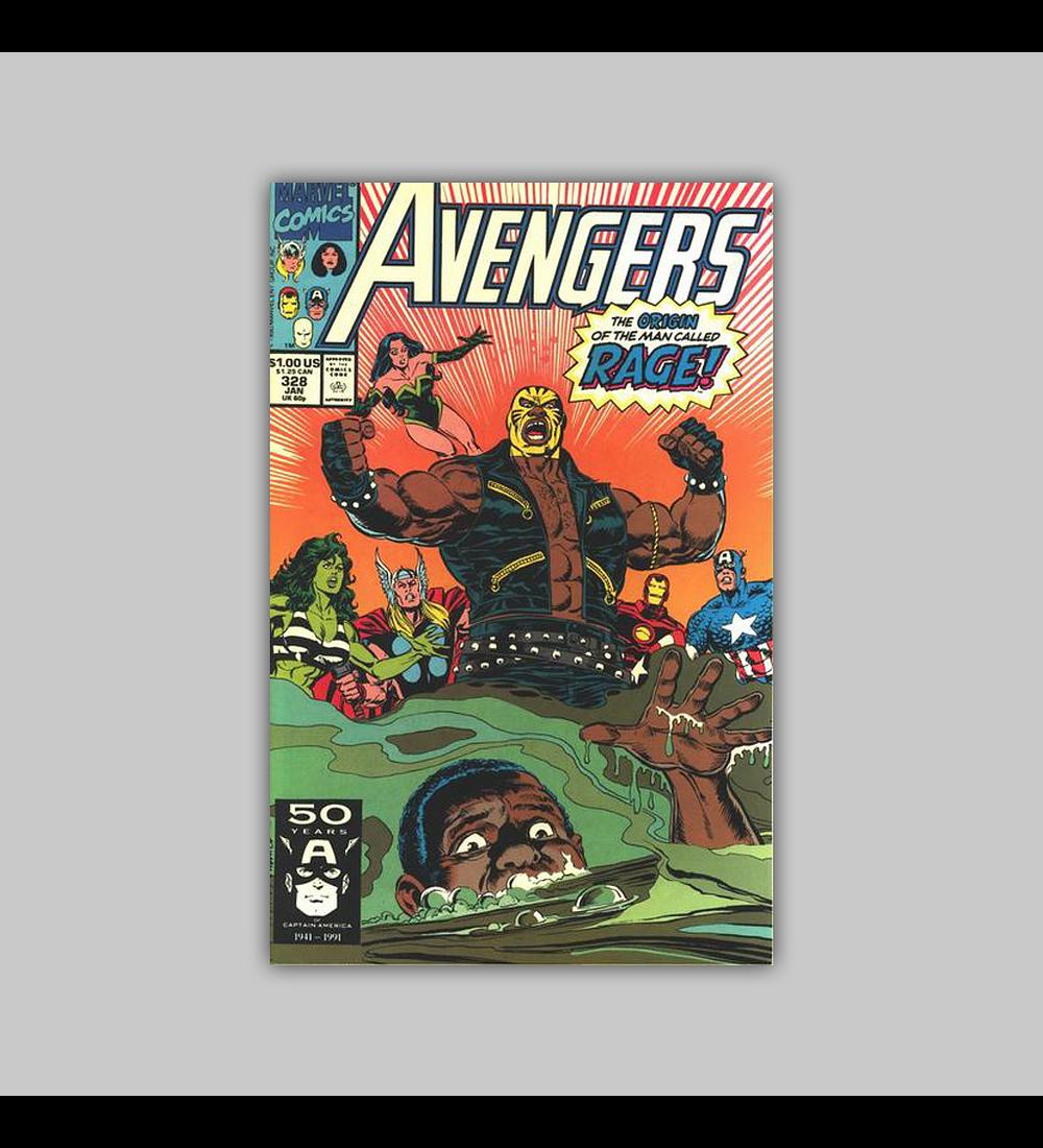 Avengers 328 1991