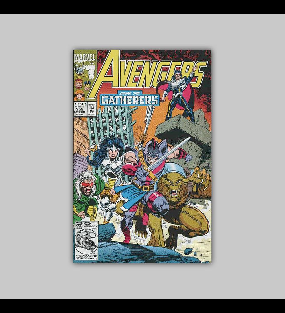 Avengers 355 1992