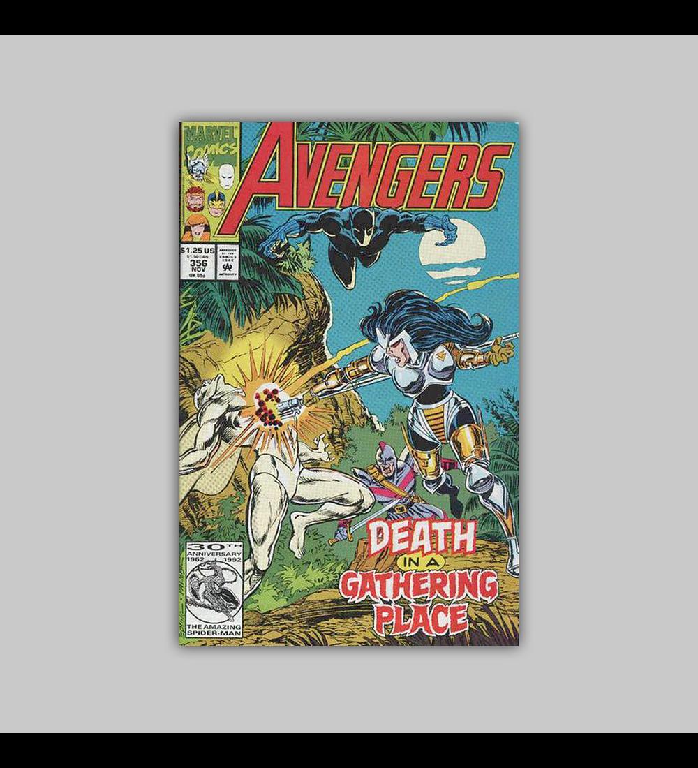 Avengers 356 1992