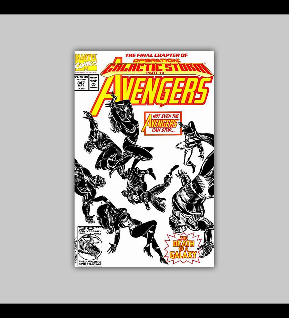 Avengers 347 1992