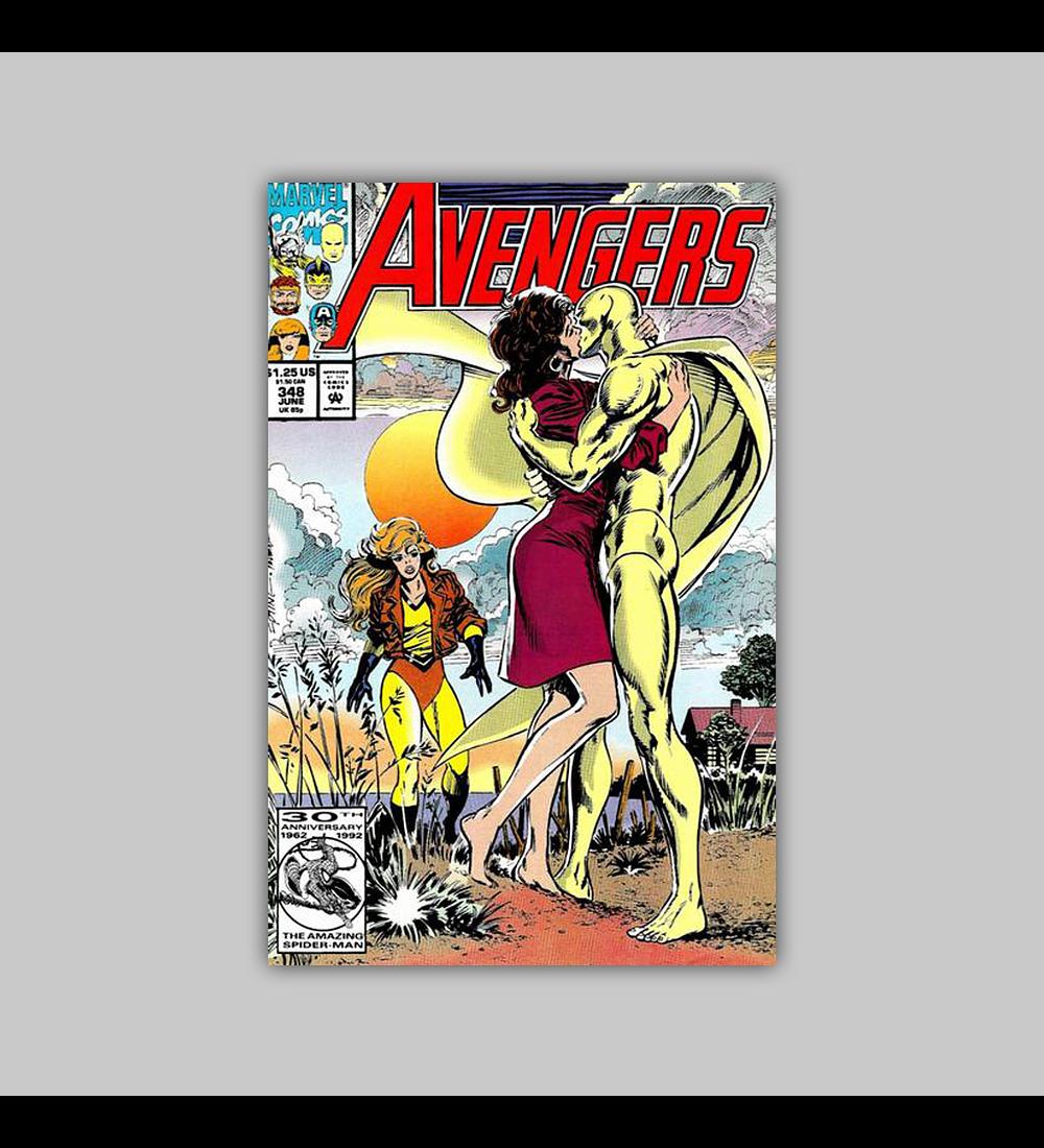 Avengers 348 1992
