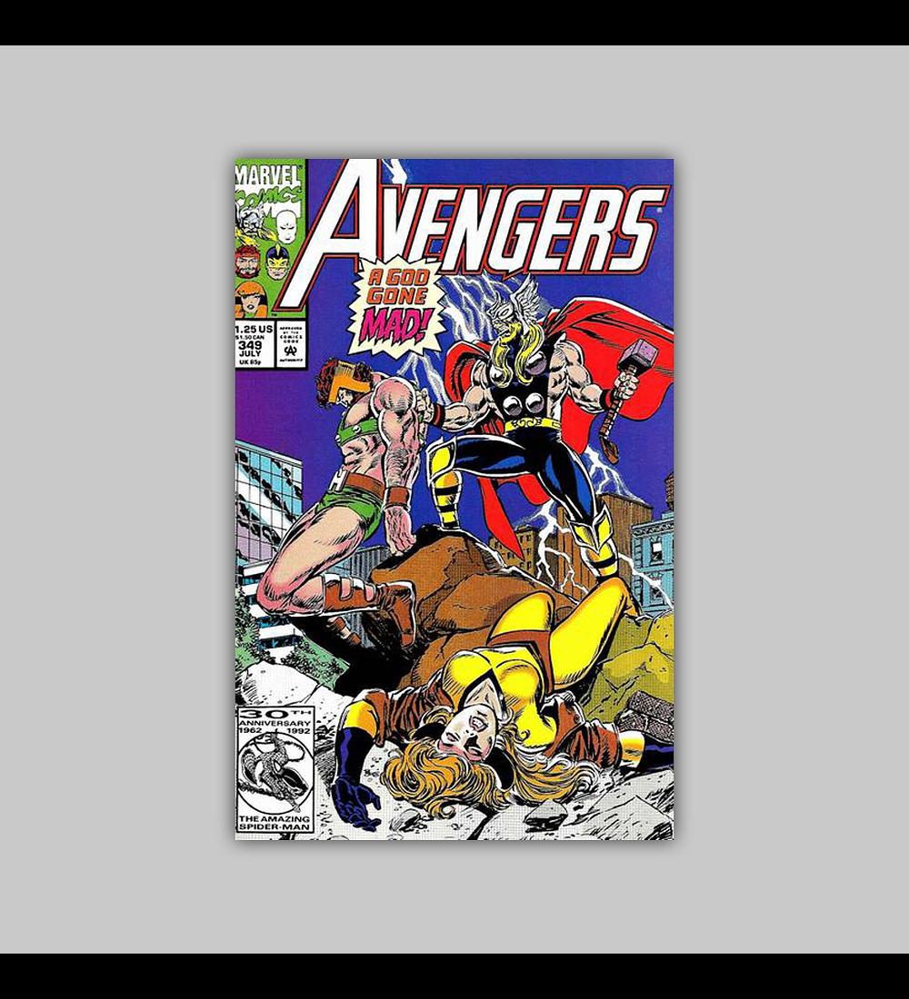 Avengers 349 1992