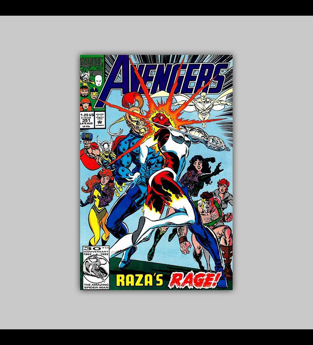 Avengers 351 1992