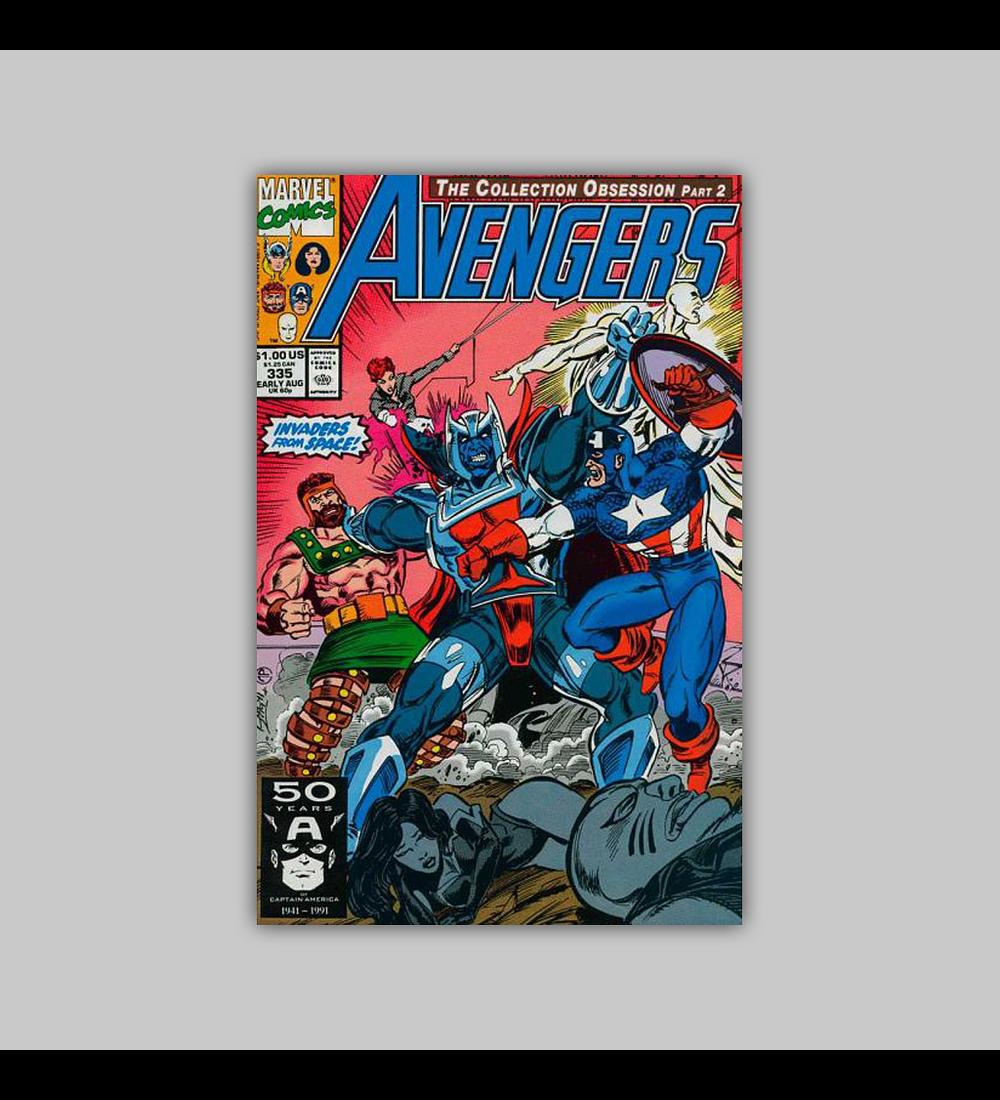 Avengers 335 1991