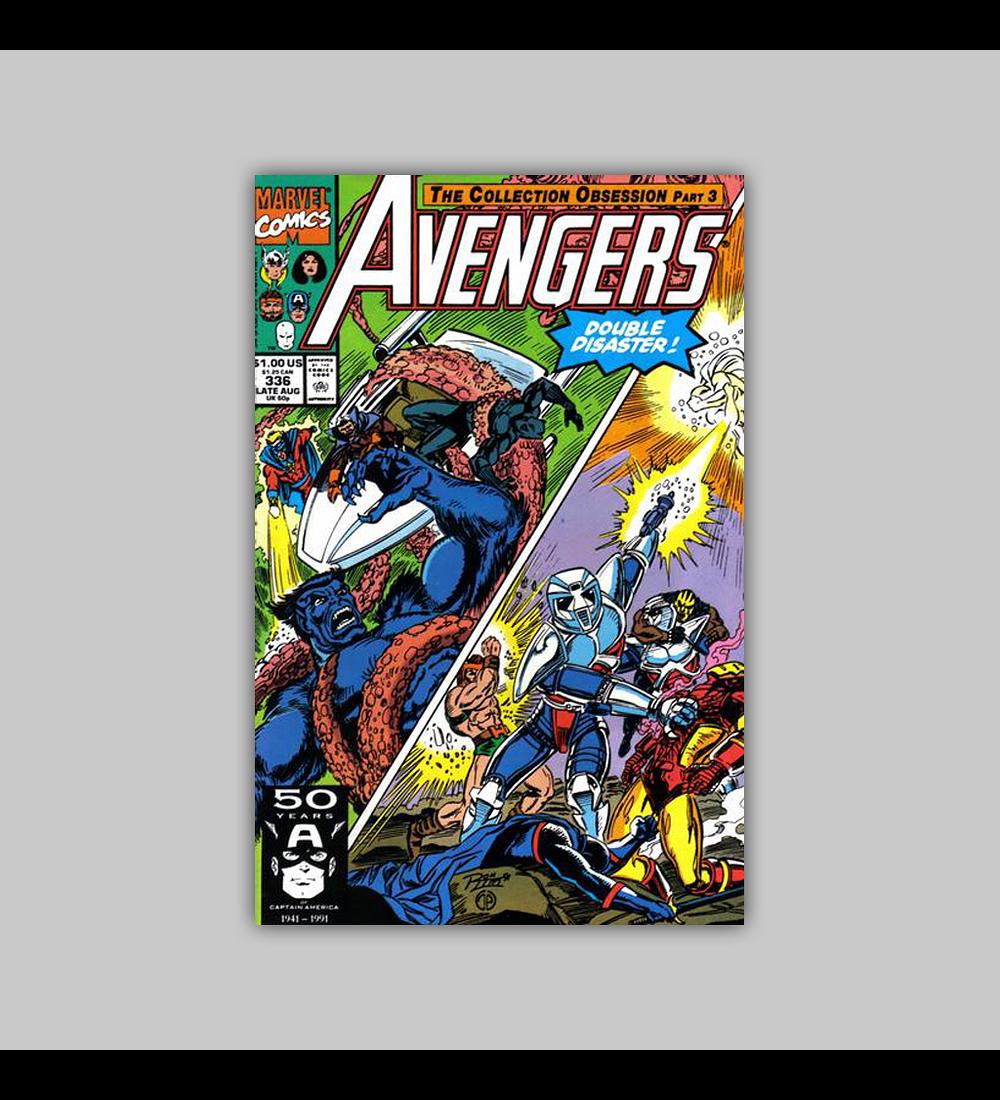 Avengers 336 1991