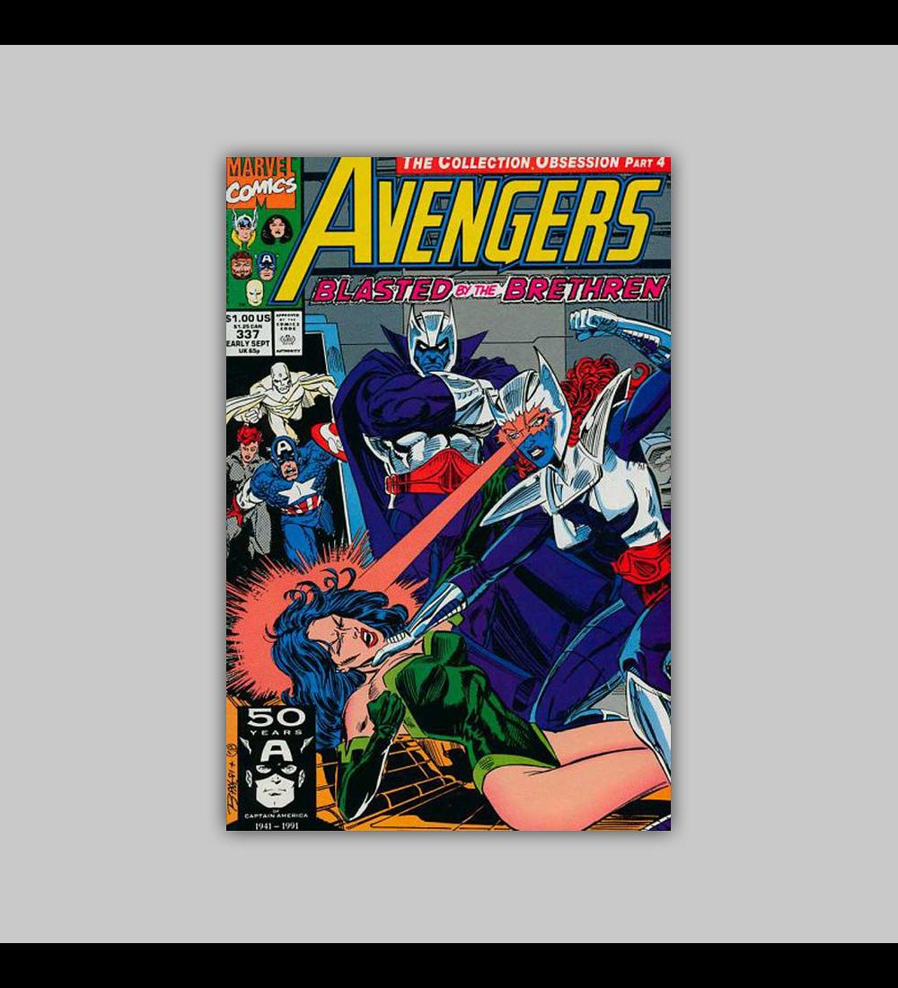 Avengers 337 1991