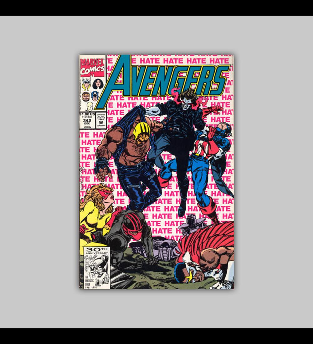 Avengers 342 1991