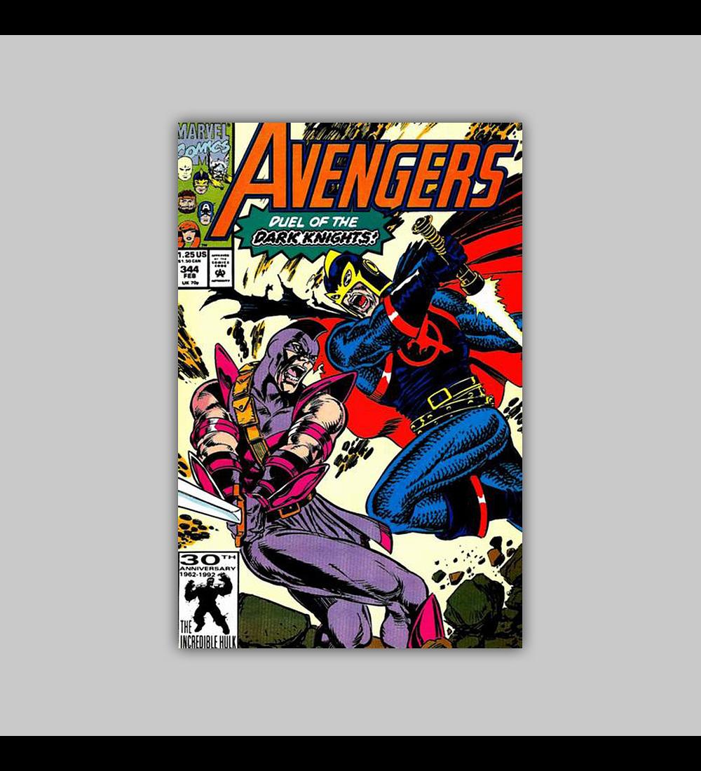 Avengers 344 1992