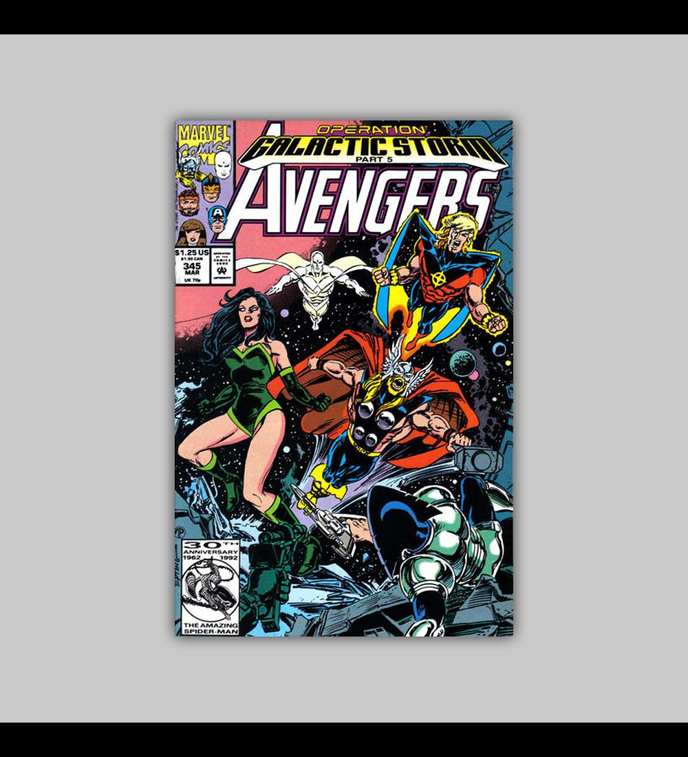 Avengers 345 1992