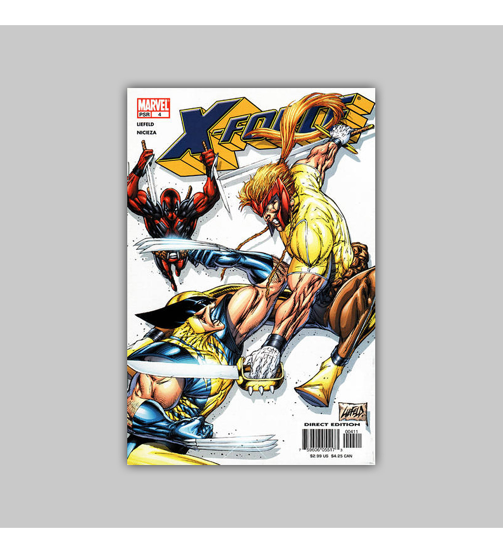 X-Force (Vol. 2) 4 2005