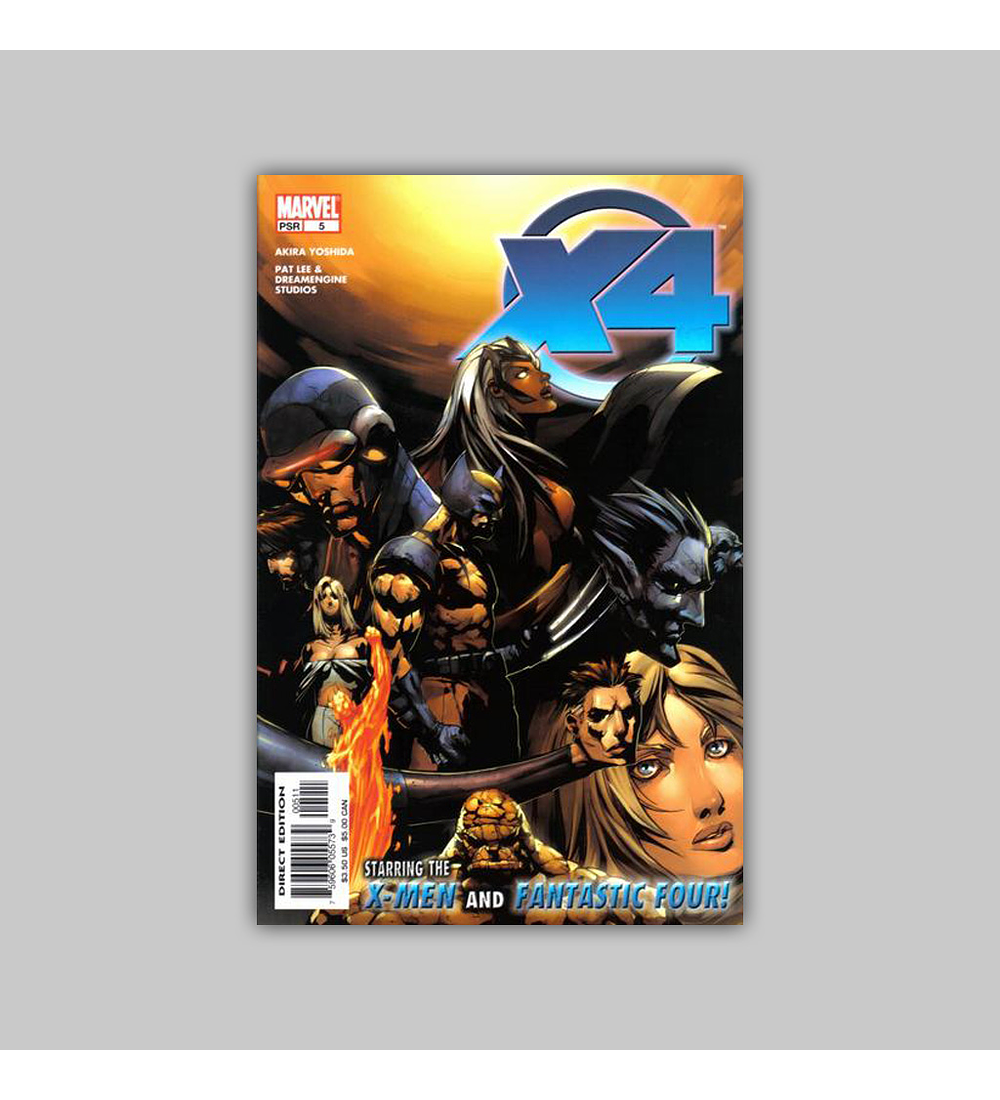 X-Men/Fantastic Four (complete limited series) 2005