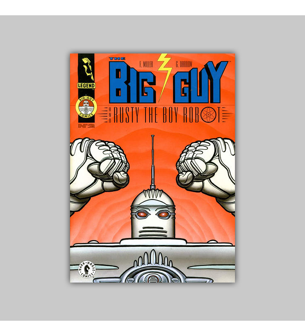 Big Guy and Rusty the Boy Robot (complete limited series) 1995