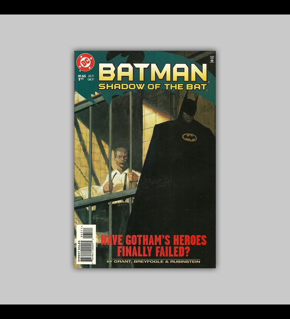 Batman: Shadow of the Bat 65 1997