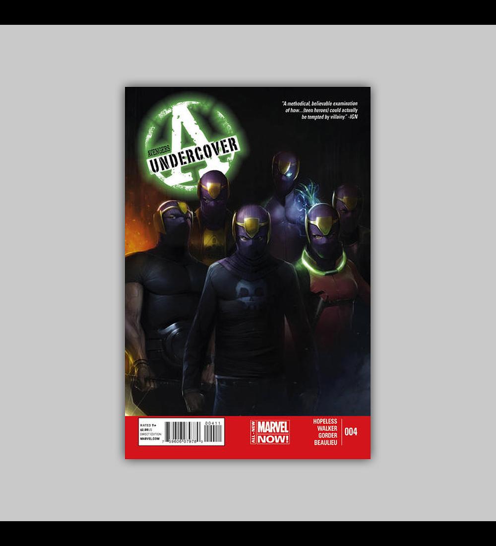Avengers Undercover 4 2014