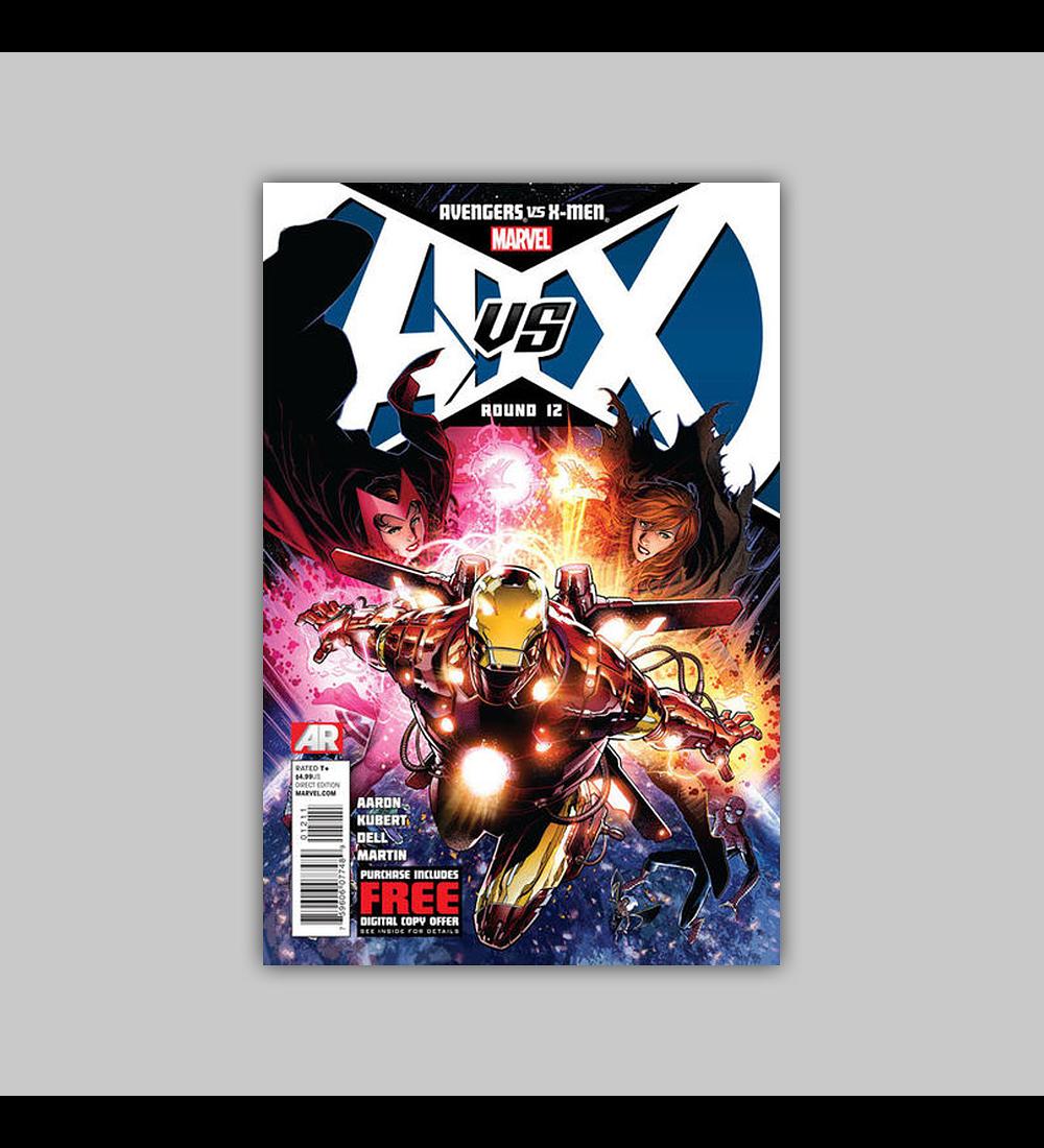 Avengers Vs. X-Men 12 2012