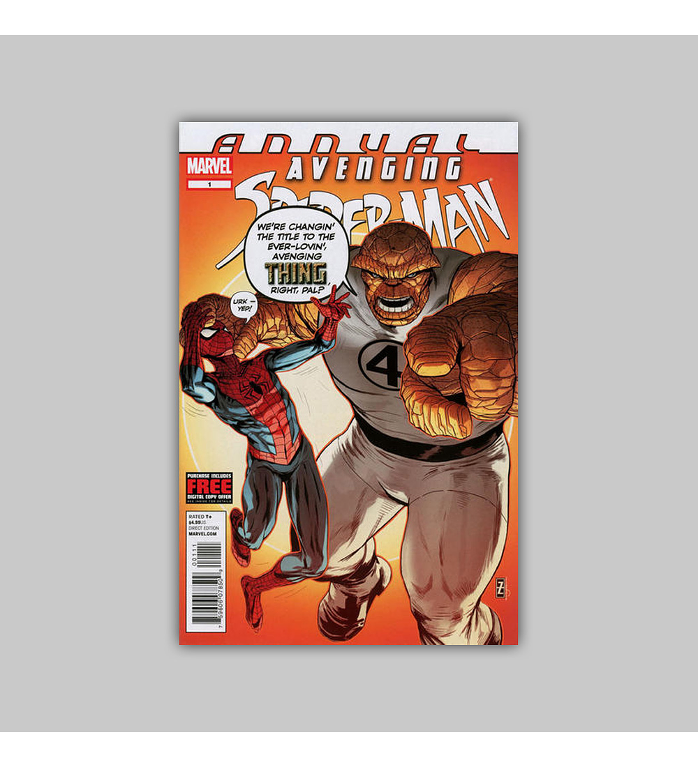 Avenging Spider-Man Annual 1 2012