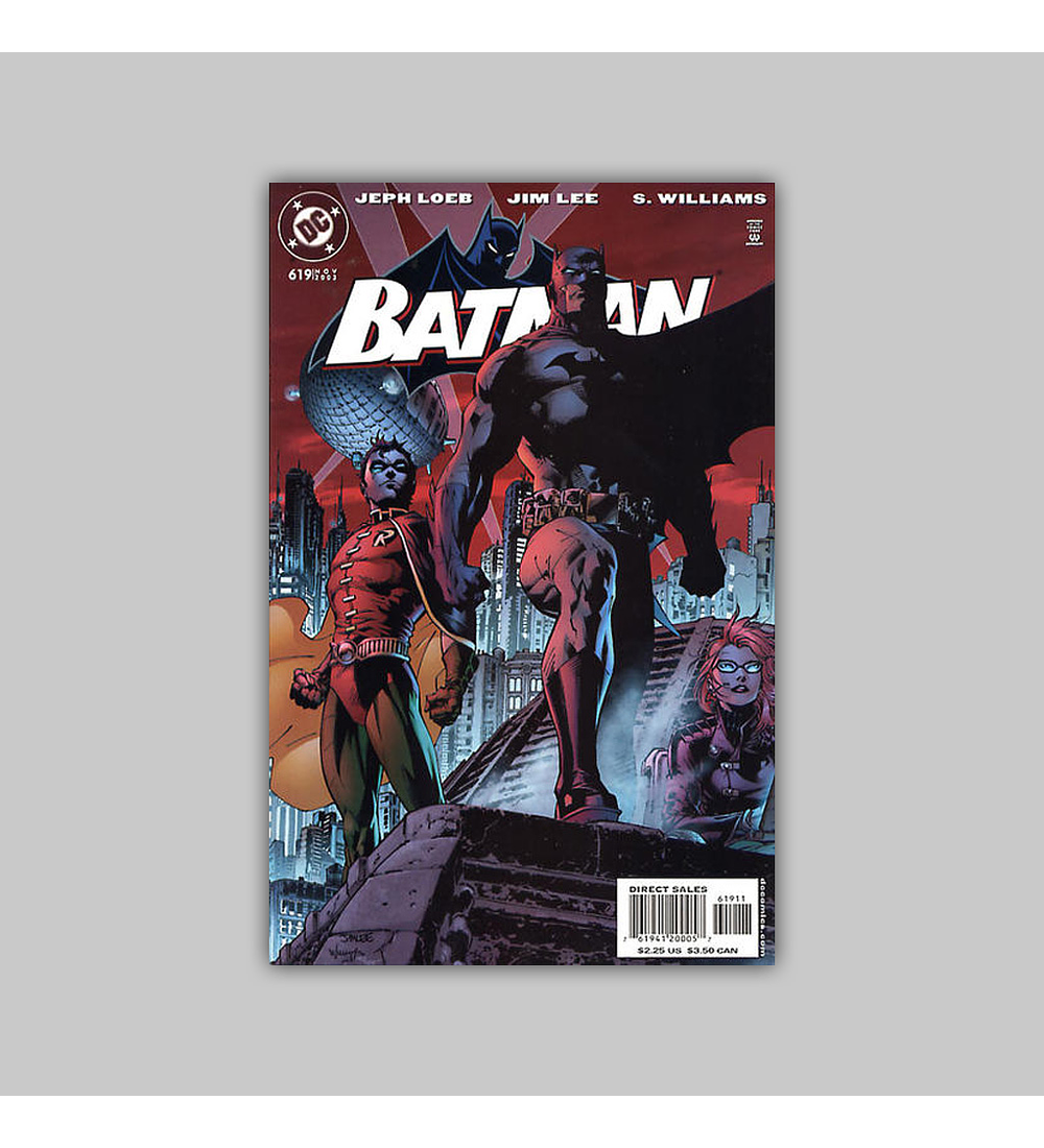 Batman 619 Heroes Cover 2003