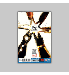 New Avengers (Vol. 3) 2 2nd printing 2013