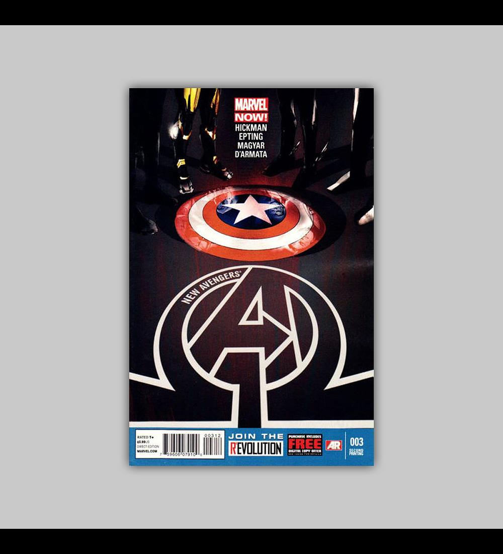 New Avengers (Vol. 3) 3 2nd printing 2013