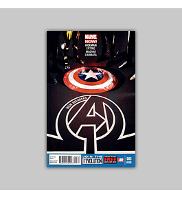 New Avengers (Vol. 3) 3 2nd printing 2013