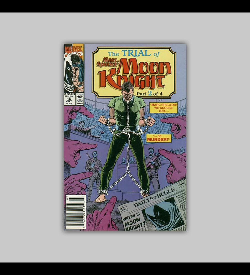 Marc Spector: Moon Knight 16 1990