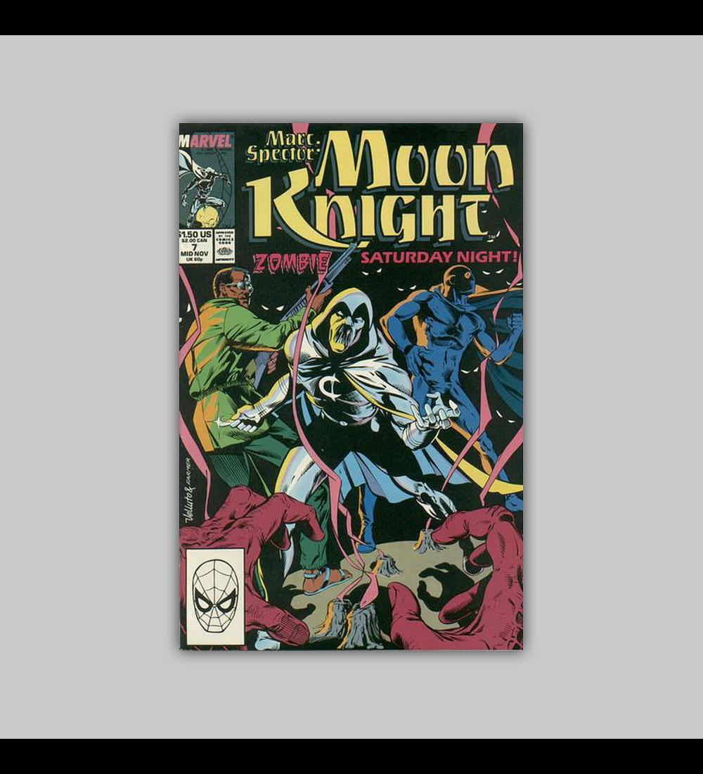 Marc Spector: Moon Knight 7 1989