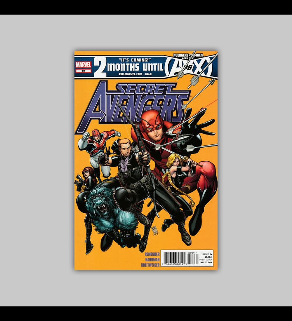 Secret Avengers 22 2012
