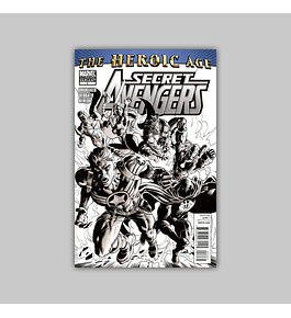 Secret Avengers 2 2nd printing 2010