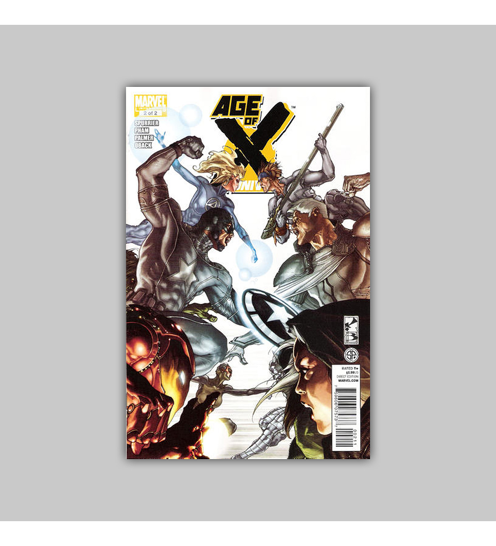 Age of X: Universe 2 2011