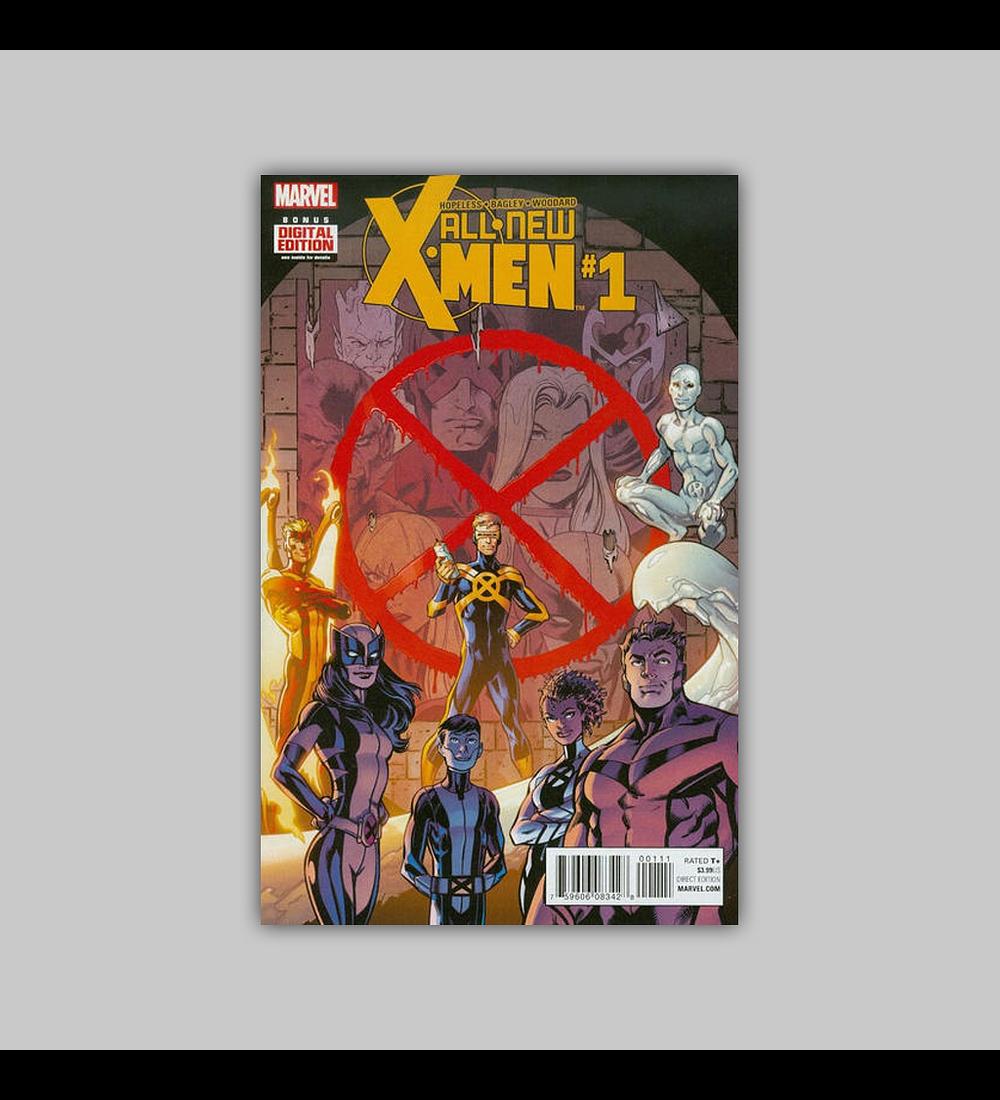 All New X-Men (Vol. 2) 1 2016