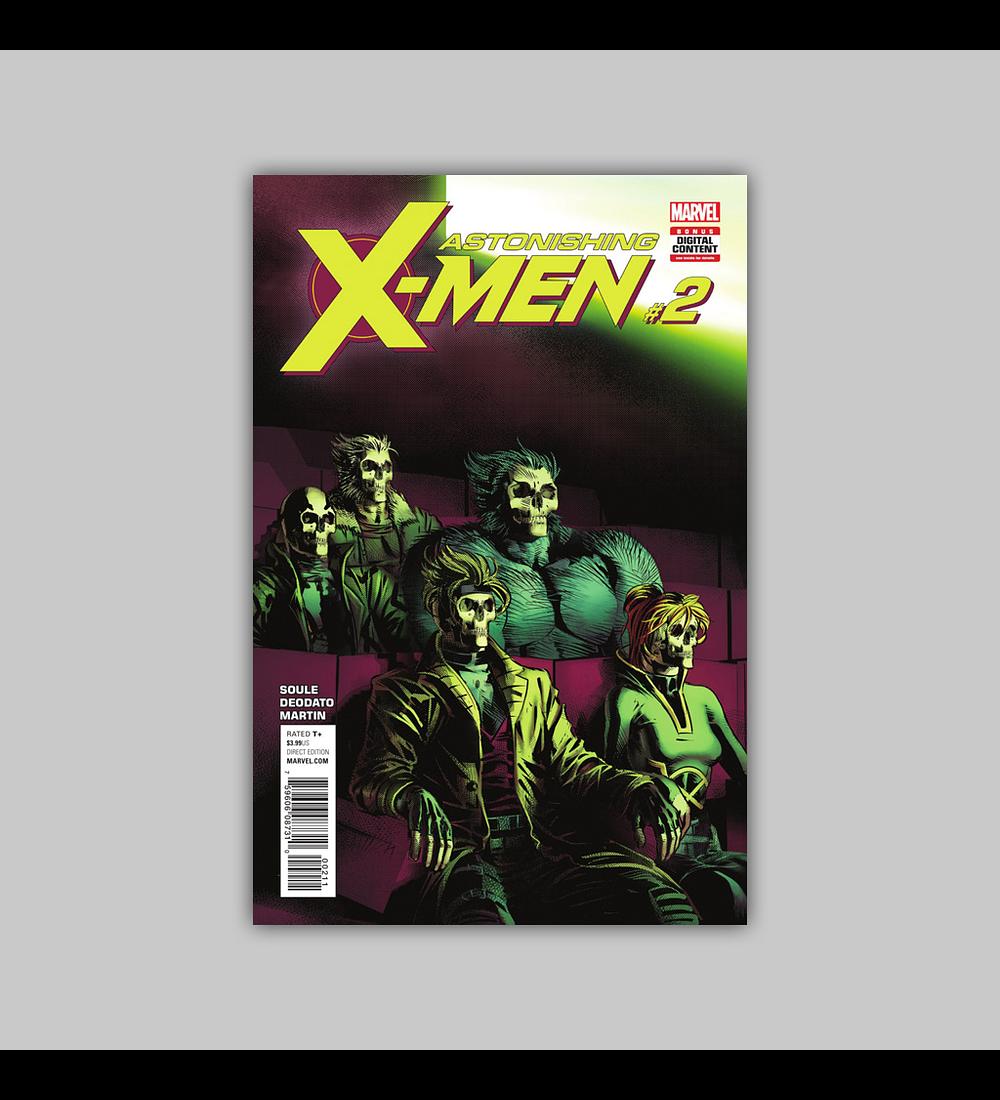 Astonishing X-Men (Vol. 2) 2 2nd printing 2017