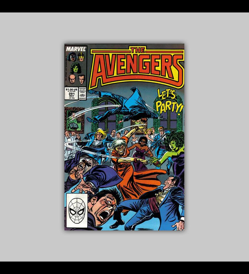 Avengers 291 1988