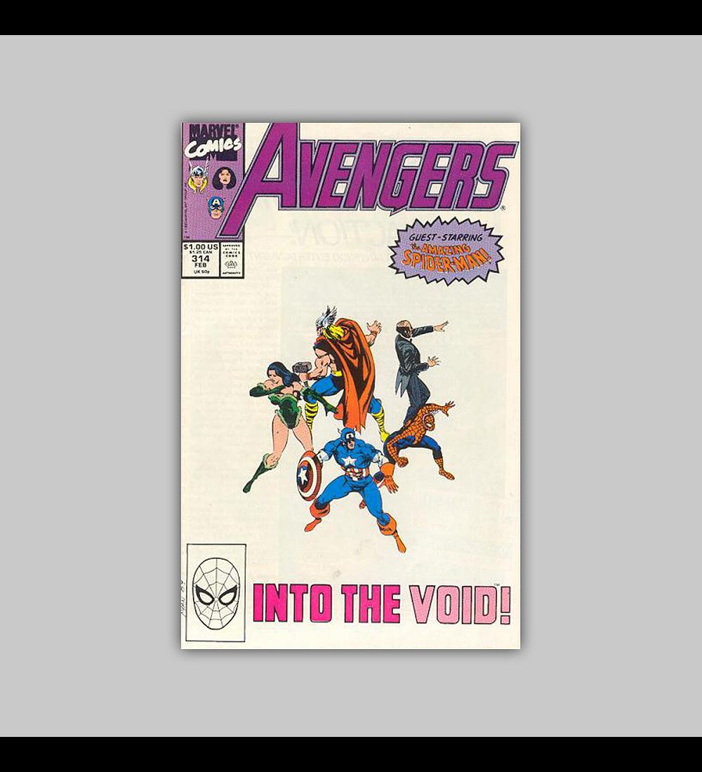 Avengers 314 1990