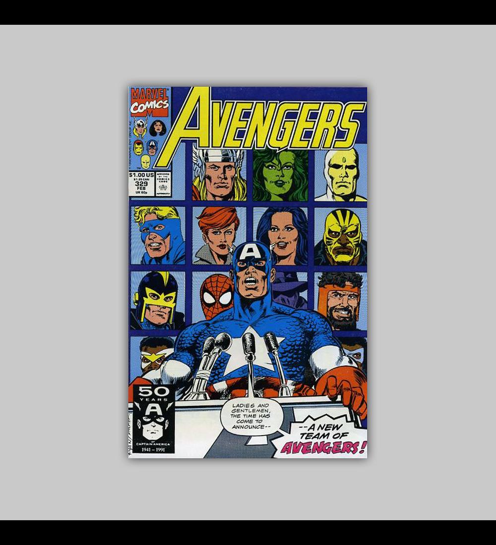 Avengers 329 1991