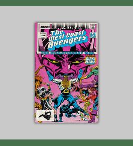 Avengers West Coast Annual 3 1989