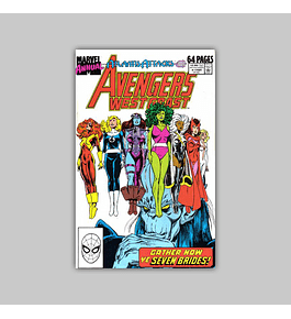 Avengers West Coast Annual 4 1989