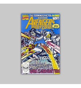 Avengers West Coast Annual 5 1990