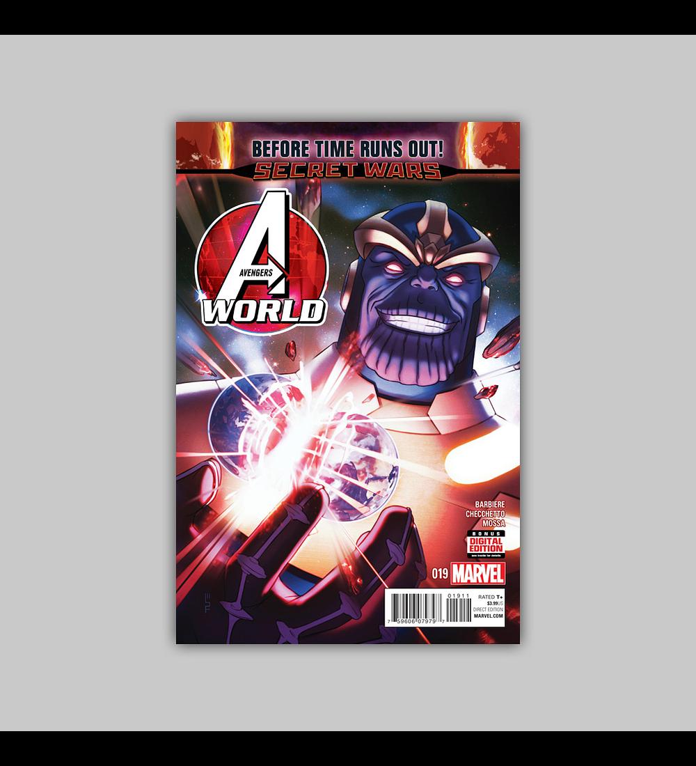 Avengers World 19 2015