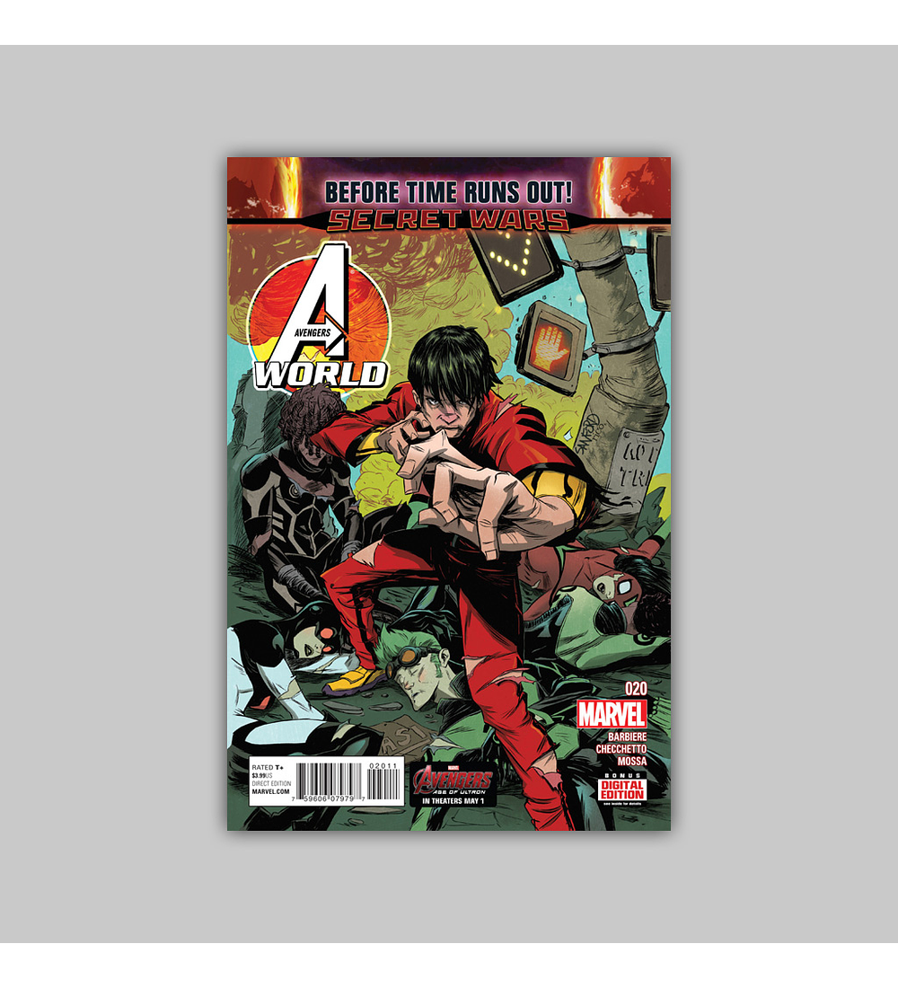 Avengers World 20 2015
