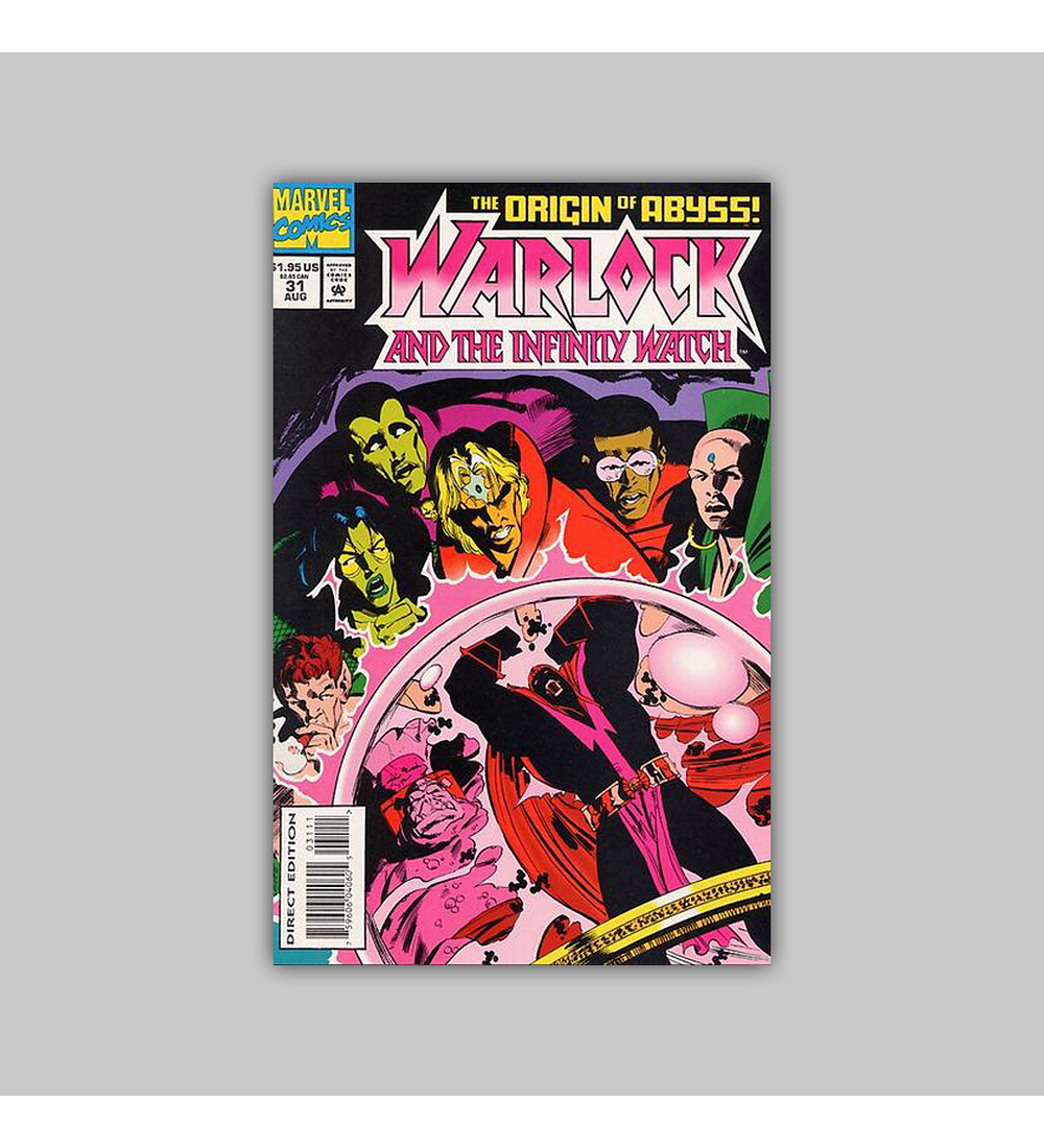Warlock and the Infinity Watch 31 1994