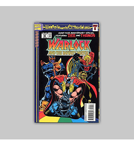 Warlock and the Infinity Watch 25 Die-Cut 1994