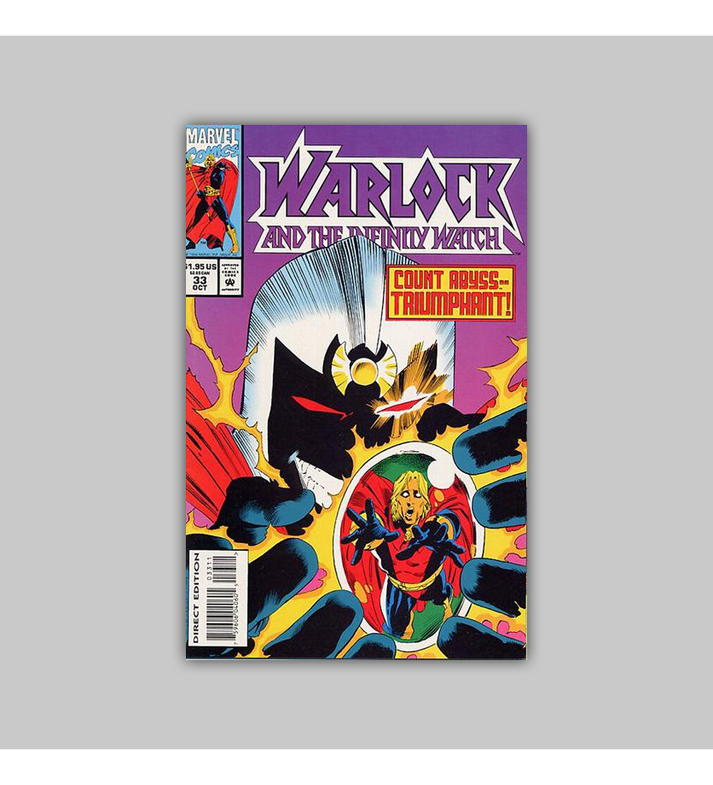 Warlock and the Infinity Watch 33 VF (8.0) 1994