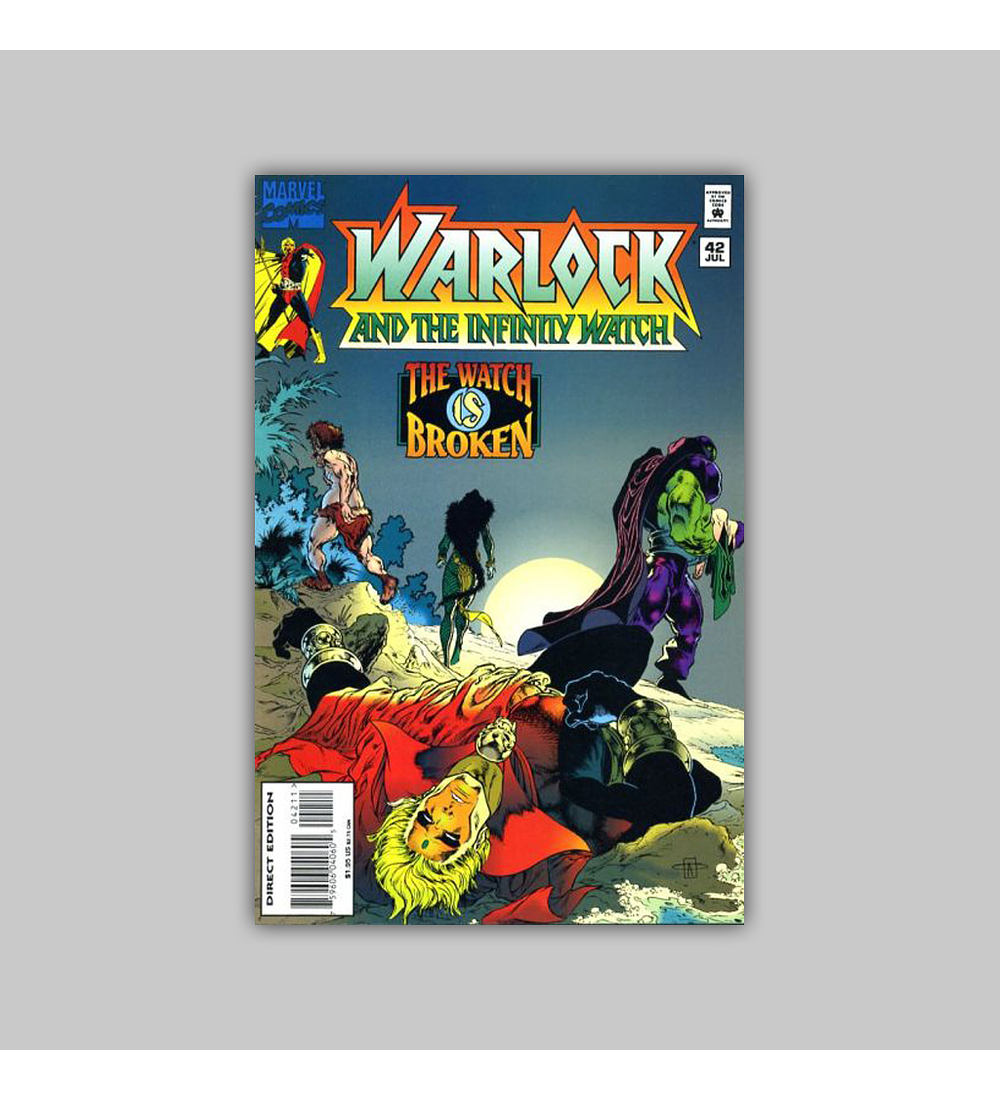 Warlock and the Infinity Watch 42 1995