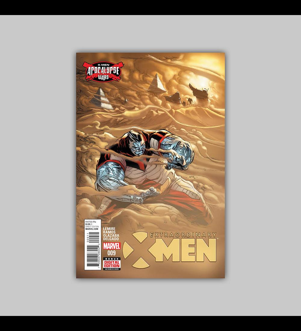 Extraordinary X-Men 9 2016