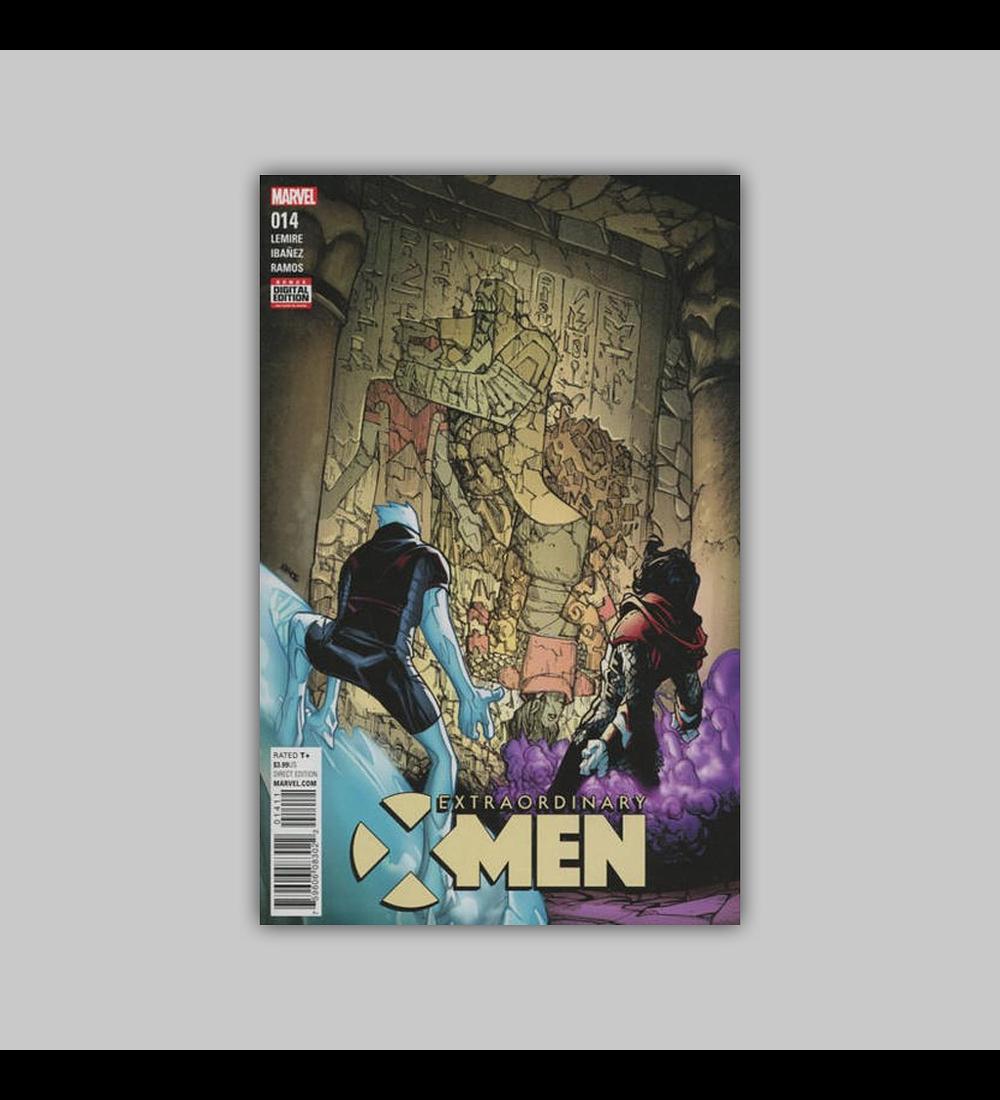 Extraordinary X-Men 14 2016