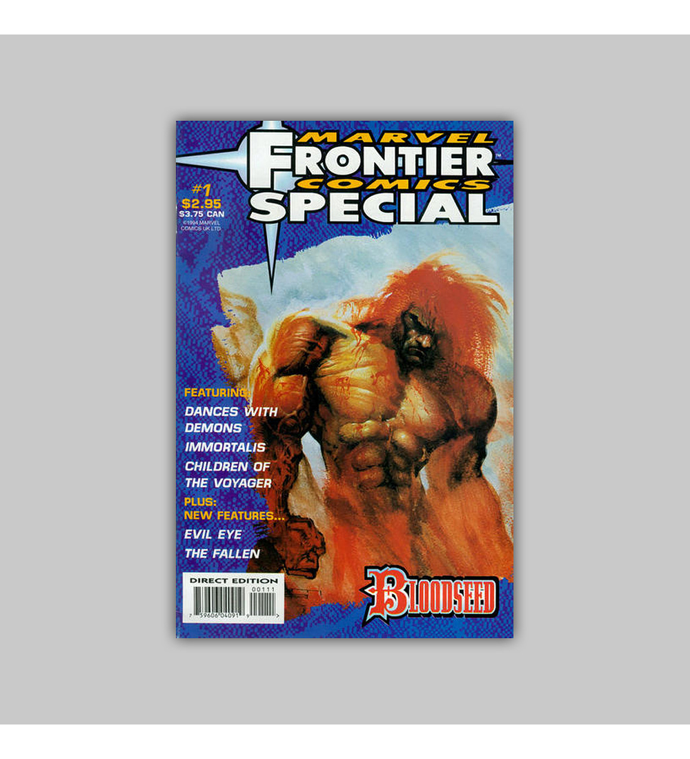 Marvel Frontier Comics Unlimited 1 1994